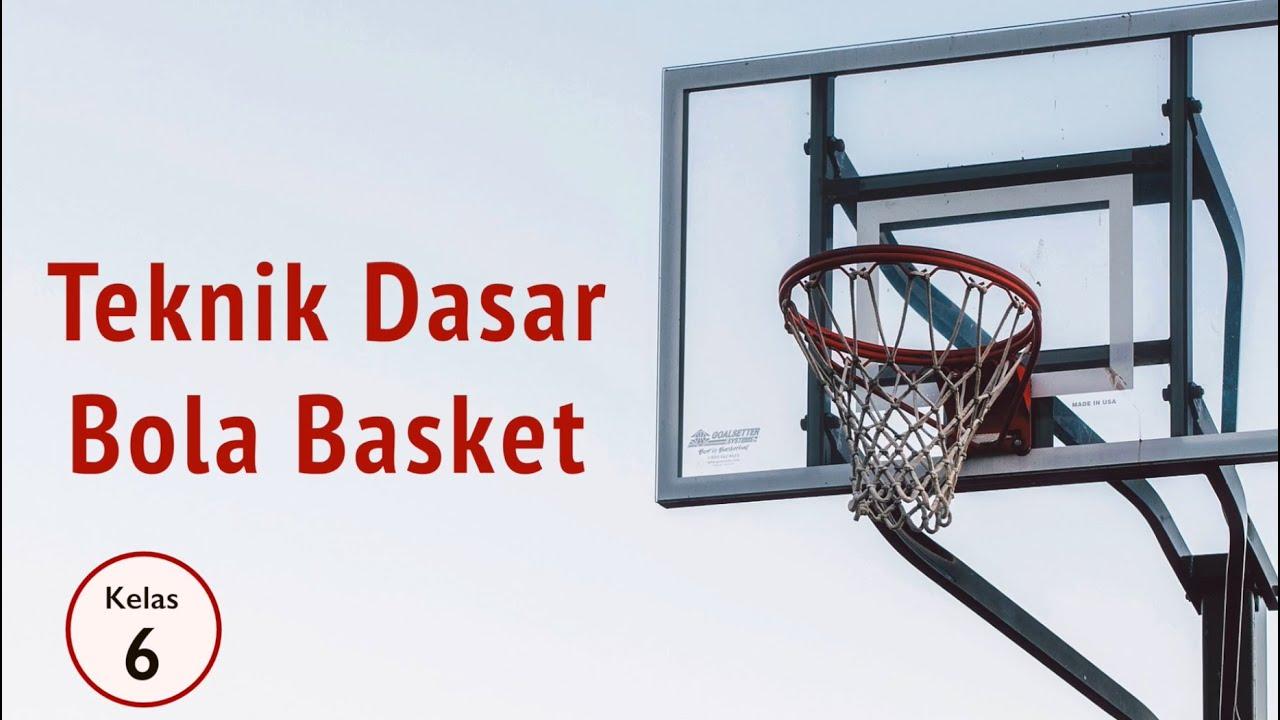 Kelas 06 Pjok Bola Basket Mini Video Pelajaran Sekolah K13 Youtube