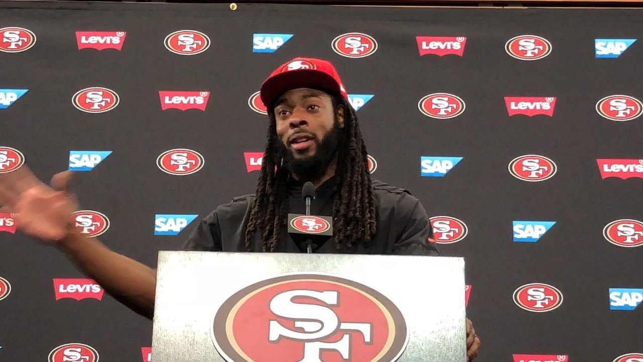 0e2872e5d 49ers  Richard Sherman predicts NFL labor lockout - YouTube