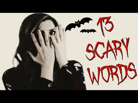 13 Scary Words 👻   | English Vocabulary Lesson