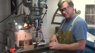 How to Tap a Hole in Metal Using a Mill - Kevin Caron