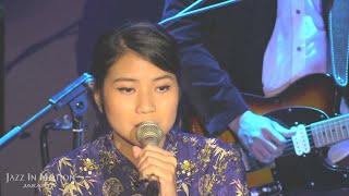 Danilla performed at Motion Blue Jakarta, Fairmont Hotel, Senayan, ...