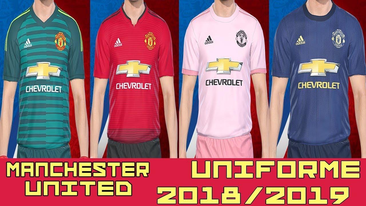Pes 2018 Uniforme Manchester United Temp 2018 2019 By Lucas Rk