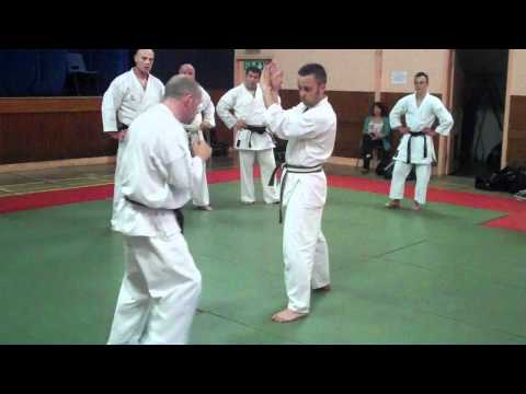 Ross Frame,Tei Karate Course, Methil in Fife