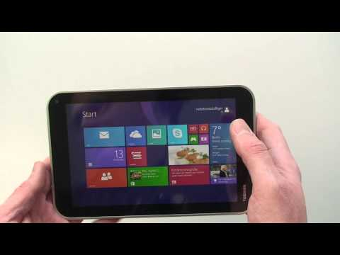 Toshiba Encore WT8-A-102 Windows 8 Tablet Hands On Test - Deutsch ►► notebooksbilliger.de