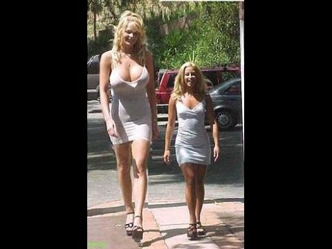Very Tall Women and Height Comparison Collection Clips