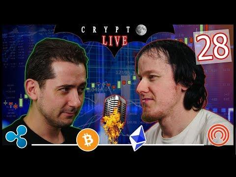 BITCOIN #CryptoLive 28 : Crash avant la Moon ? 🤑  #Nasdaq #USDC #Riot