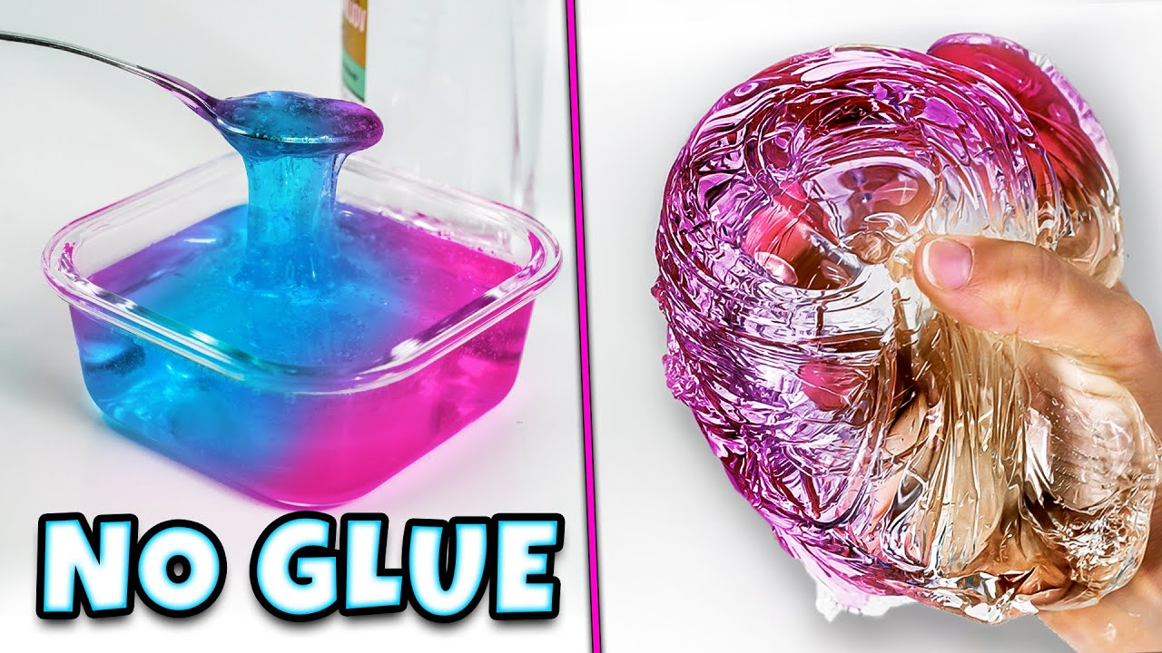 Testing Instant NO GLUE WATER SLIME recipes! WATER SLIME! 💦