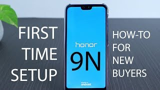 Honor 9N First Time Setup   Initial Boot in English