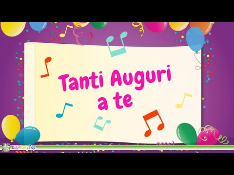 Tanti Auguri Buon Compleanno Happy Birthday To You Youtube