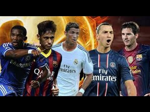The top 20 richest footballer in the world 2015