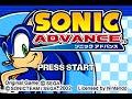 Sonic Advance - walkthrough