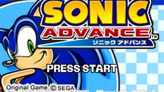 Sonic Advance - walkthrough