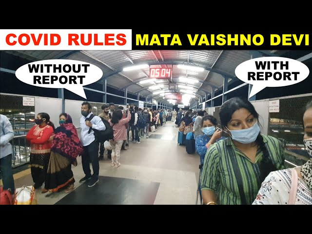 Covid Rules for MATA VAISHNO DEVI DARSHAN   RT PCR Report Checking and Covid Test Centers   MVD #1