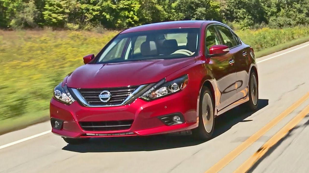 2016 Nissan Altima Interior And Exterior