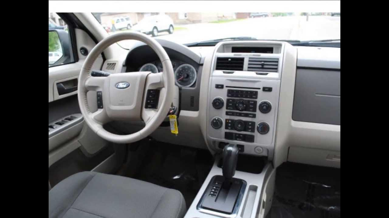 2009 Ford Escape Xlt White Suede Clearcoat 12 969