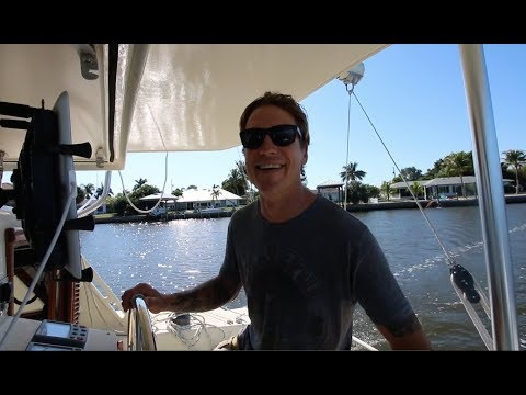 Solo sailing to the keys & the 6 minute refit  | Sailing Zingaro Ep-1