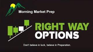 Morning Market Prep   Stock & Options Trading   11-20-17