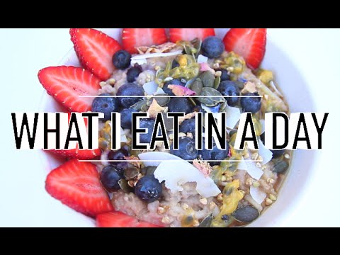 WHAT I EAT IN A DAY #40 | VEGAN