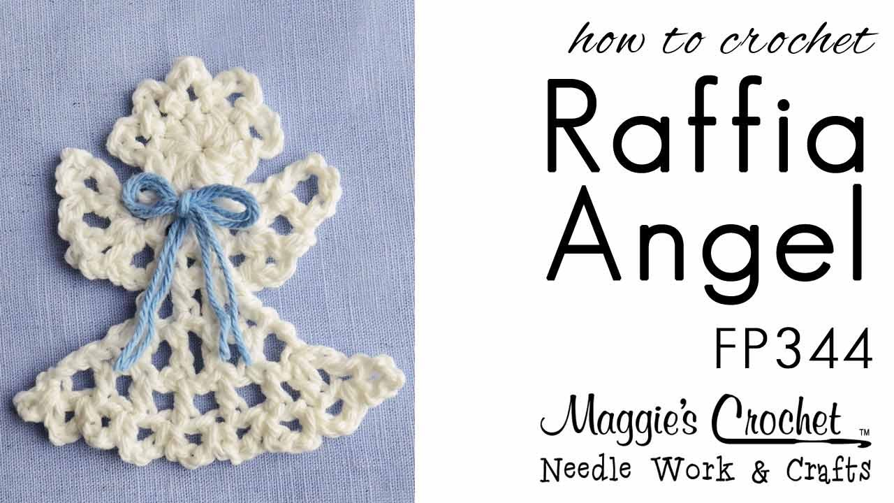 Crochet Pattern Rt Hand Free How To Raffia Angel