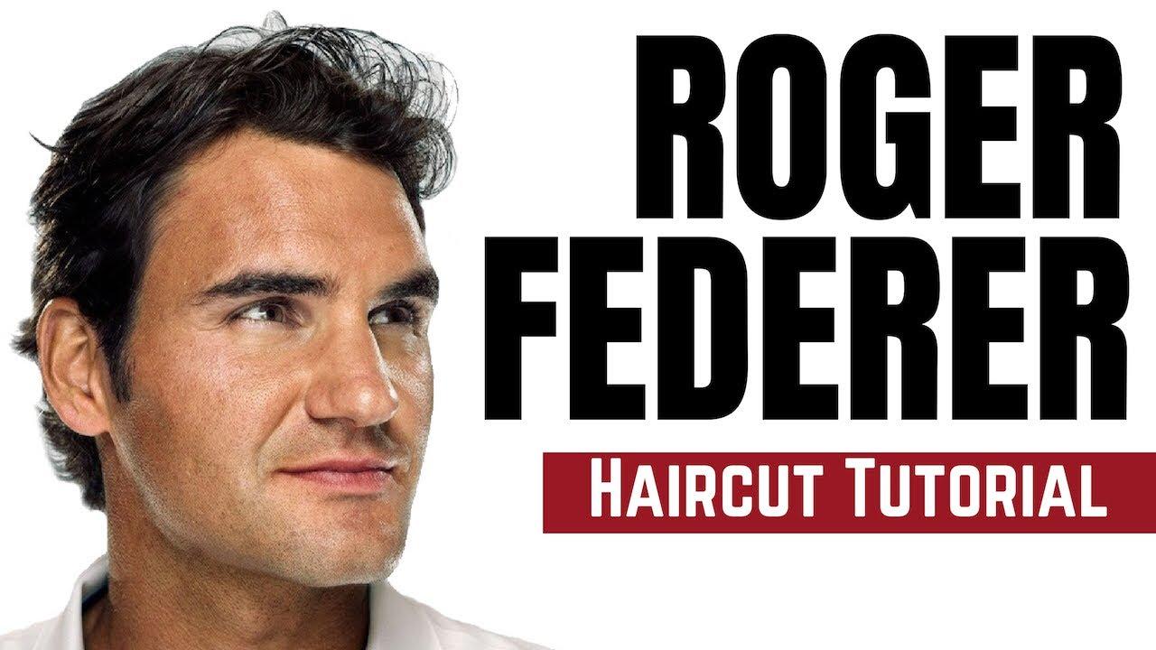 Celebrity Haircut Tutorial Roger Federer Thesalonguy Youtube