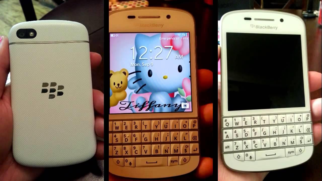 Blackberry Z3 White Colour