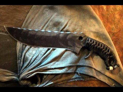 Нож ручной работы от неизвестного мастера. Золинген, Германия .