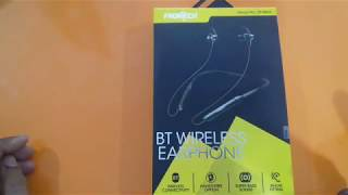 Frontech bluetooth headset unboxing