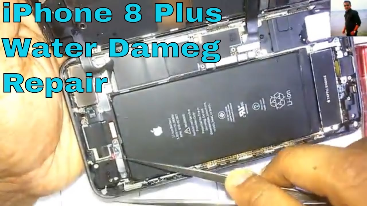 premium selection 6d35a 6a203 How to Fix iPhone 8 Plus Water Damage Repair