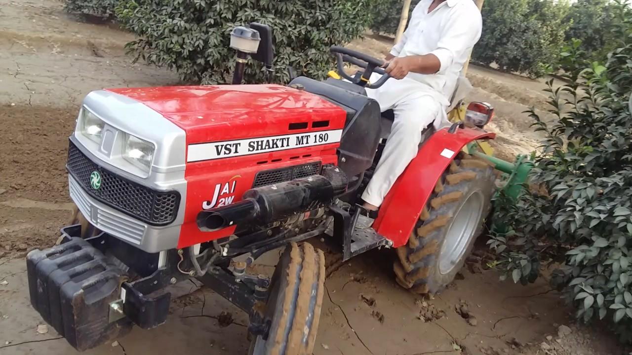 Mitsubishi Shakti 18 5 Hp Tractor With 7 Fit Rotavatar