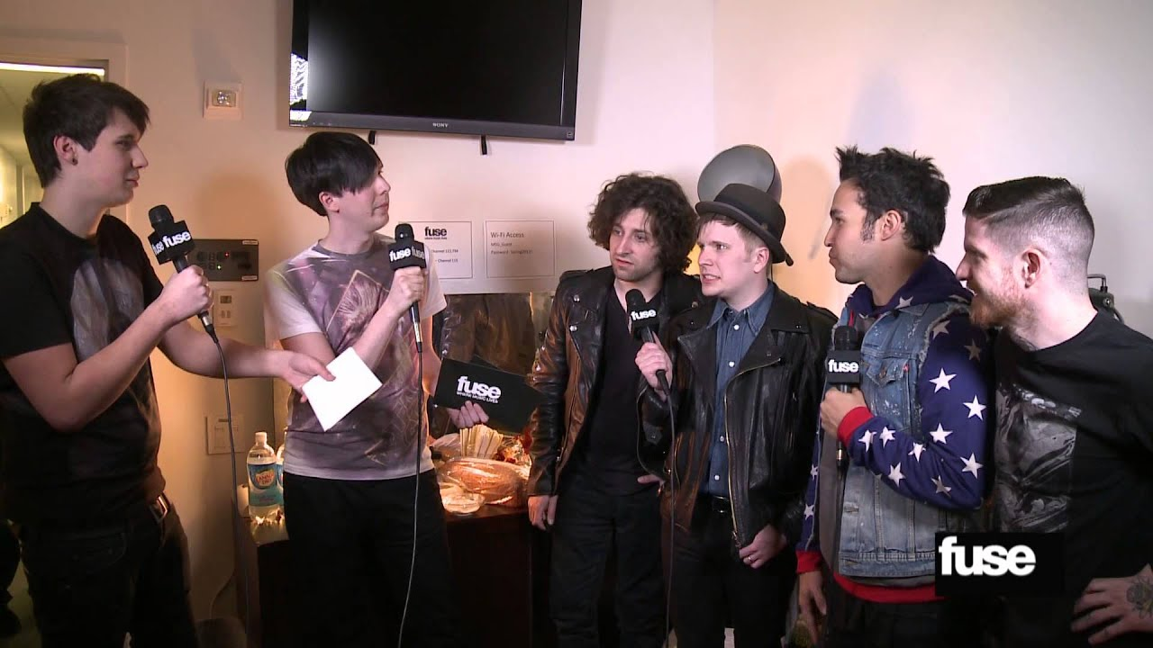 Fall Out Boy Wallpapers 2013 Fall Out Boy Plays Quot Would You Rather Quot With Dan Amp Phil