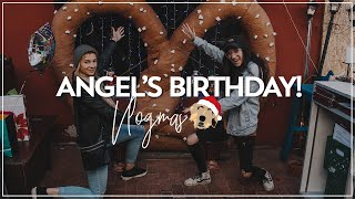 ANGEL'S BIRTHDAY! || VLOGMAS 🎄☃️🎁