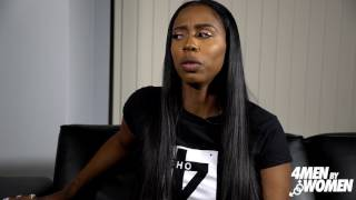 Kash Doll - Is it okay for your man to take care of other women (4 Men By Women Interview)