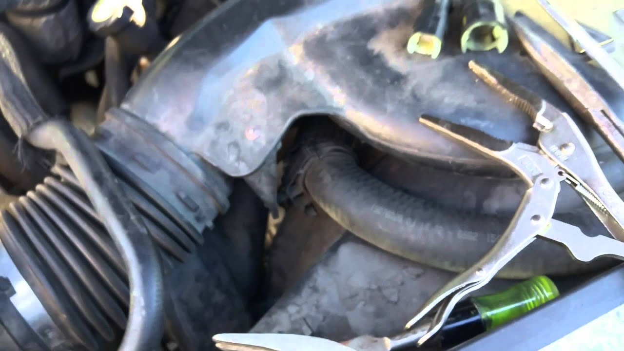 maxresdefault 2000 2009 chevrolet tahoe heater hose connector hd youtube