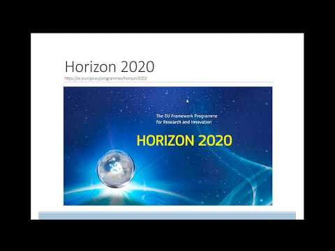 Accessing Horizon 2020 Research Funding for the Global Community