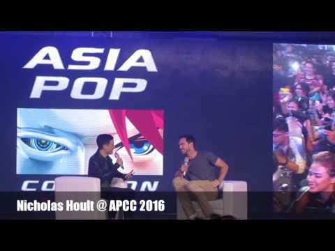 Nicholas Hoult At AsiaPop Comicon 2016