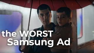 "The Worst Samsung Commercial: ""Moving On"""
