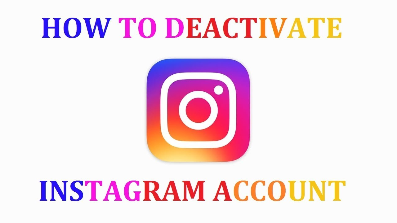 How to deactivate instagram account android youtube how to deactivate instagram account android ccuart Image collections