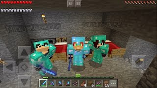 2 Malucos e 1 Ninja na Cidade dos Inscritos ! Minecraft Pocket Edition