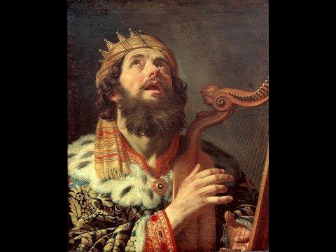 Le saint roi David, l'adultère assassin qui se repentit 1° Sa jeunesse, par A. Dumouch