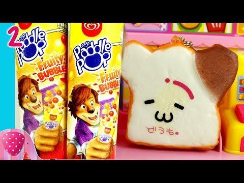 #2 Es Campur Fruity Bubble - Squishy Roti - Kreasi Es Krim Paddle Pop - GoDuplo TV