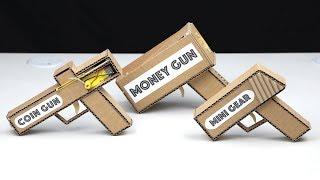 Wow! 3 Amazing DIY GUN from Cardboard