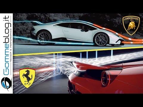 Ferrari 488 Pista vs Lamborghini Huracan Performante | HOW To Made a Fast Interior AERODYNAMIC