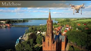 D-Day in Malchow - drone in Mecklenburg