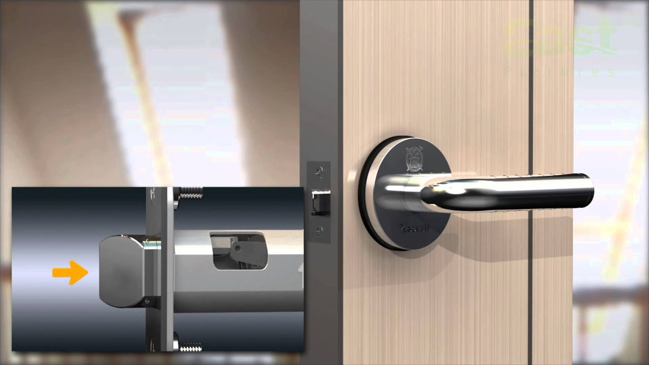 Electronic Smart Lever Lock Locksis Keyless Digital
