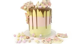 Learn how to create this show stopper chocolate drip cake, we will ...