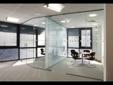 Glass Office Wall Glass Partitions For Office Wall Design Ideas