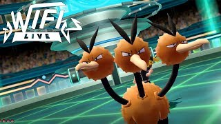 Pokemon Let's Go Pikachu & Eevee Wi-Fi Battle: Dodrio Thrashes About! (1080p)
