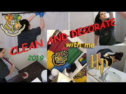 CLEAN WITH ME 2019 // CLEANING MOTIVATION // BATHROOM DECOR