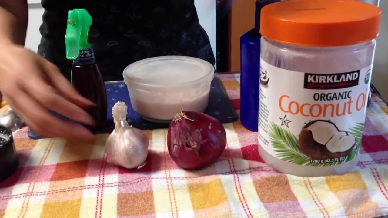 Remedios caseros para la caida del cabello con aceite de coco