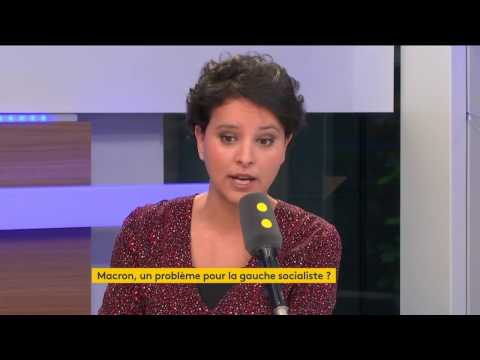 """Najat Vallaud-Belkacem à propos des alliances politiques """"improbables gauche et droite"""""""